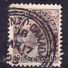 Sellos: CANADA 71 USADA, MONARQUIA, REINA VICTORIA, . Lote 10815975