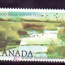 Sellos: CANADA 827 SIN CHARNELA, NATURALEZA, AVES, PARQUE NACIONAL, . Lote 10815970