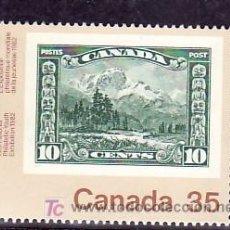 Sellos: CANADA 788A SIN CHARNELA, CANADA 82 EXPOSICION FILATELICA MUNDIAL DE LA JUVENTUD EN TORONTO,. Lote 9061751