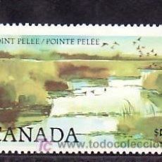 Sellos: CANADA 827A AÑO 1984 SIN CHARNELA, NATURALEZA, AVES, PARQUE NACIONAL,. Lote 10815967