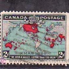 Sellos: CANADA 73A USADA, CONMEMORACION DE LA TARIFA POSTAL UNIFICADA PARA TODO EL IMPERIO BRITANICO, . Lote 9104254