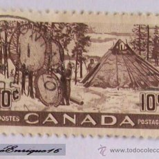 Sellos: 10 CENTS - CANADA POSTES - POSTAGE. Lote 16070763