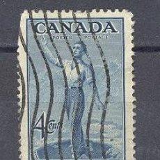 Sellos: CANADA- 1947-USADO CON CHARNELA. Lote 21904737