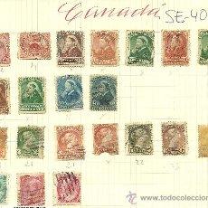 Sellos: (SE-40)LOTE DE SELLOS DE CANADA. Lote 22805686