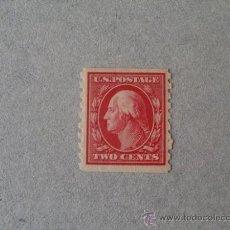 Sellos: USA,ESTADOS UNIDOS,1910,WASHINGTON,SCOTT 393**,NUEVO CON GOMA Y SIN FIJASELLOS(MNH). Lote 23001299