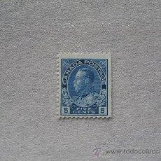 Sellos: CANADA,1911-25,REY JORGE V,SCOTT 111,YVERT 95,NUEVO SIN GOMA. Lote 17840213