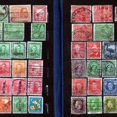 Stamps - Lote de 44 ANTIGUOS SELLOS USADOS de AUSTRALIA y NUEVA ZELANDA - 25238465