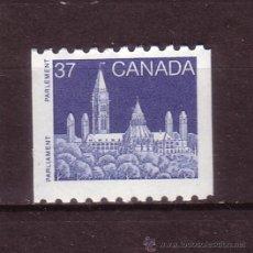 Sellos: CANADA 1040*** AÑO 1988 - PARLAMENTO DE CANADA. Lote 29075376