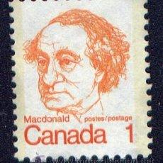 Sellos: SELLO DE CANADA - MACDONALD - USADO. Lote 30552881