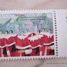 Sellos: SERIE SELLOS DE CANADA CORTE SUPREMA.FACIAL 0,46.AÑO 2000. Lote 33283581