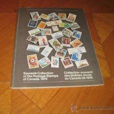 Sellos: CARPETA OFICIAL DEL AÑO 1976 DE CANADÁ. Lote 33962362
