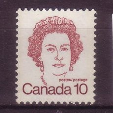 Sellos: CANADA 610*** - AÑO 1976 - REINA ISABEL II. Lote 35925041