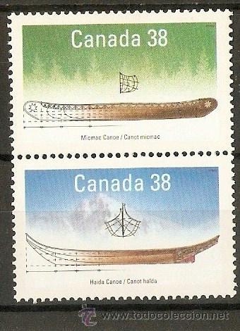 CANADA YVERT NUM. 1086/7 ** NUEVOS SIN FIJASELLOS (Sellos - Extranjero - América - Canadá)