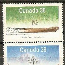 Sellos: CANADA YVERT NUM. 1086/7 ** NUEVOS SIN FIJASELLOS. Lote 36510626