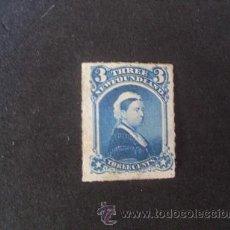 Sellos: NEWFOUNDLAND,TERRANOVA,1868-1894,SCOTT 34,REINA VICTORIA,NUEVO CON POCA GOMA,NO DENTADO. Lote 36972675