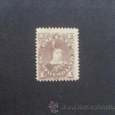 Sellos: NEWFOUNDLAND,TERRANOVA,1880-1896,SCOTT 42*,PRINCIPE EDUARDO VII,NUEVO CON GOMA Y SEÑAL FIJASELLOS. Lote 36973726