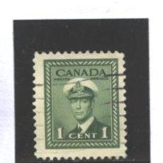 Sellos: CANADA 1943-48 - YVERT NRO. 205- GEORGE VI - USADO. Lote 37662122