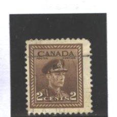 Sellos: CANADA 1943-48 - YVERT NRO. 206- GEORGE VI - USADO. Lote 37662132