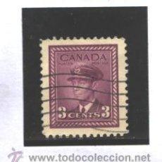 Sellos: CANADA 1943-48 - YVERT NRO. 208- GEORGE VI - USADO. Lote 37662160
