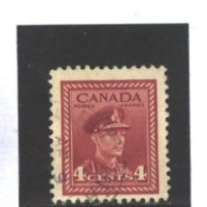 Sellos: CANADA 1943-48 - YVERT NRO. 209- GEORGE VI - USADO. Lote 37662171