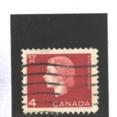 Sellos: CANADA 1962 - YVERT NRO. 331 - ELIZABETH -USADO. Lote 37740562
