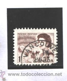 CANADA 1967 - YVERT NRO. 378 - ELIZABETH -USADO (Sellos - Extranjero - América - Canadá)