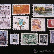 Sellos: CANADA -LOTE DE SELLOS. Lote 38086705