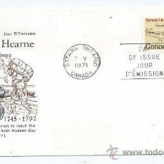 Sellos: SAMUEL HEARNE, S.P.D. CANADA, AÑO 1971 (1745/92), CONMEMORATIVO. Lote 39159819
