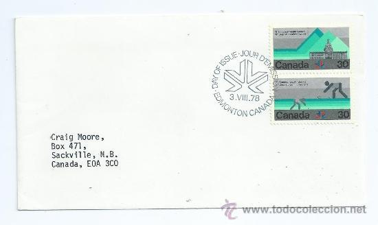 XI COMMONWEALTH GAMES, DEPORTES, S.P.D. AÑO 1978, CANADA (Sellos - Extranjero - América - Canadá)