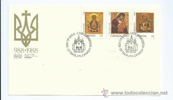 CHRISTMAS NAVIDAD, CONMEMORATIVO. 1988-10-27, DE CANADA, S.P.D. (Sellos - Extranjero - América - Canadá)
