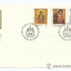 Sellos: CHRISTMAS NAVIDAD, CONMEMORATIVO. 1988-10-27, DE CANADA, S.P.D.. Lote 39175673