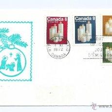 Sellos: CHRISTMAS, NAVIDAD .DE CANADA, AÑO 1972, S.P.D, MULTICOLOR. Lote 39349719