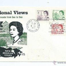 Sellos: ELIZABETH II, S.P.D. DE CANADA, PRECIOSO. AÑO 1967. Lote 39687522