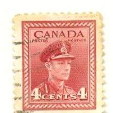Sellos: CANADA-209. SELLO USADO CANADA. YVERT Nº 209. PERSONAJE. Lote 40107309