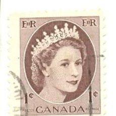 Sellos: CANADA-267. SELLO USADO CANADA. YVERT Nº 267. BÁSICA. REINA. Lote 40107446