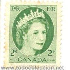 Sellos: CANADA-268. SELLO USADO CANADA. YVERT Nº 268. BÁSICA. REINA. Lote 40107472