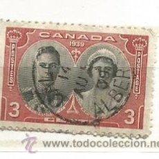 Sellos: CANADÁ 1939. CORONACIÓN REY JORGE. Lote 41410613