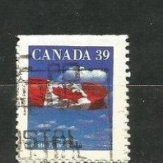 Sellos: CANADÁ 1989. BANDERA, NO DENTADO ARRIBA. Lote 41421881