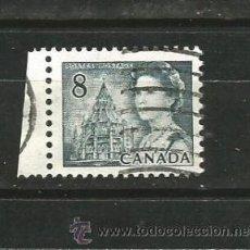 Sellos: CANADÁ 1971. REINA ISABEL II Y BIBLIOTECA DEL PARLAMENTO. Lote 41422236