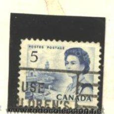 Sellos: CANADA 1967 - YVERT NRO. 382 - ELIZABETH -USADO. Lote 44763463