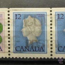 Sellos: CANADA 1 + 12 + 12. Lote 46056045