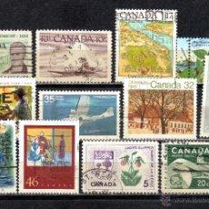 Sellos: LOTE DE SELLOS USADOS DE CANADA. Lote 46697628