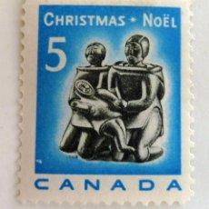 Sellos: SELLOS CANADA 1968. NAVIDAD. NUEVO CON CHARNELA.. Lote 47532054