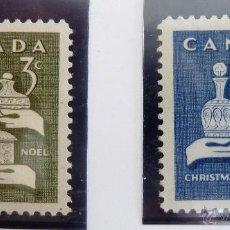 Sellos: SELLOS CANADA 1965. NUEVOS. NAVIDAD.. Lote 47813700