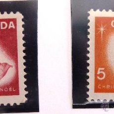 Sellos: SELLOS CANADA 1966. NUEVOS. NAVIDAD.. Lote 47813819