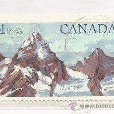 Sellos: 1976 CANADÁ. PARQUE NACIONAL DE GLACIER. Lote 49017226