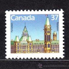 Sellos: CANADÁ 1030** - AÑO 1987 - PARLAMENTO DE CANADA. Lote 51098315