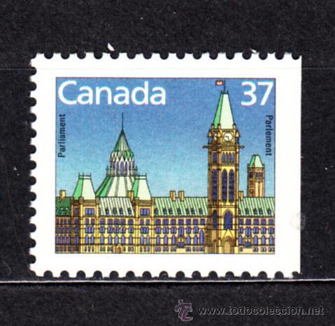CANADÁ 1030A** - AÑO 1987 - PARLAMENTO DE CANADA (Sellos - Extranjero - América - Canadá)