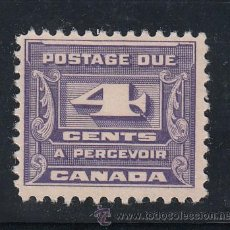 Sellos: CANADA TASA 12 SIN GOMA, . Lote 51225515