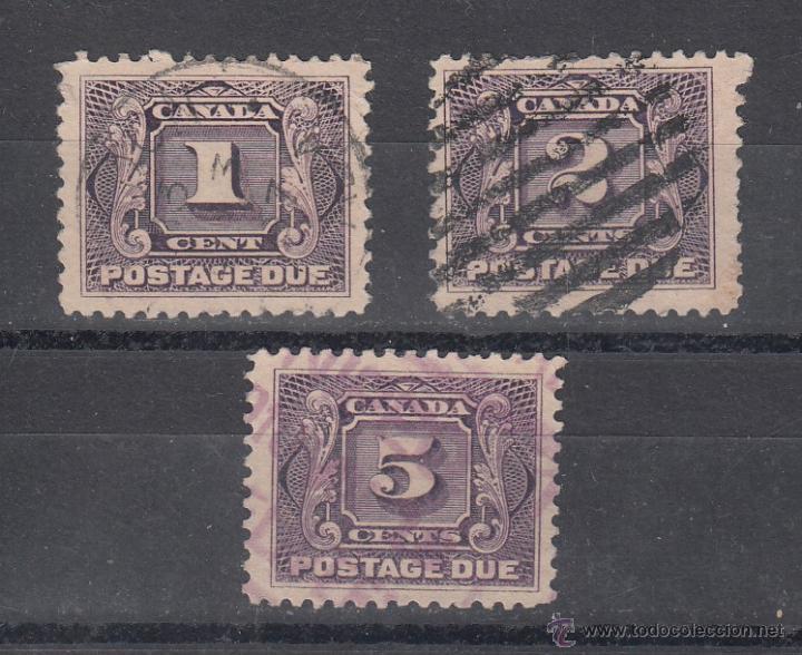 CANADA TASA 1/3 USADA, (Sellos - Extranjero - América - Canadá)